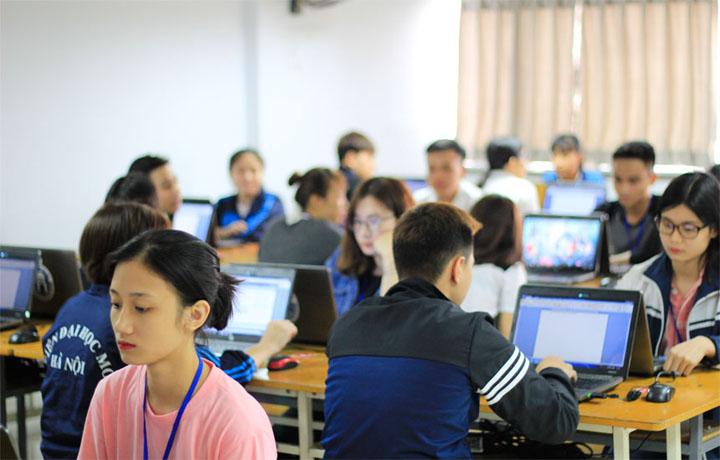 Viện Đại học Mở Hà Nội tổ chức Cuộc thi Olympic Tin học, Tiếng Anh không chuyên lần thứ VII, năm 2018